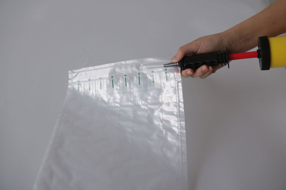 Luftpolsterkissen,abtrennbar,befült 10-600 Luftpolstermatten,Luftkissenfolie