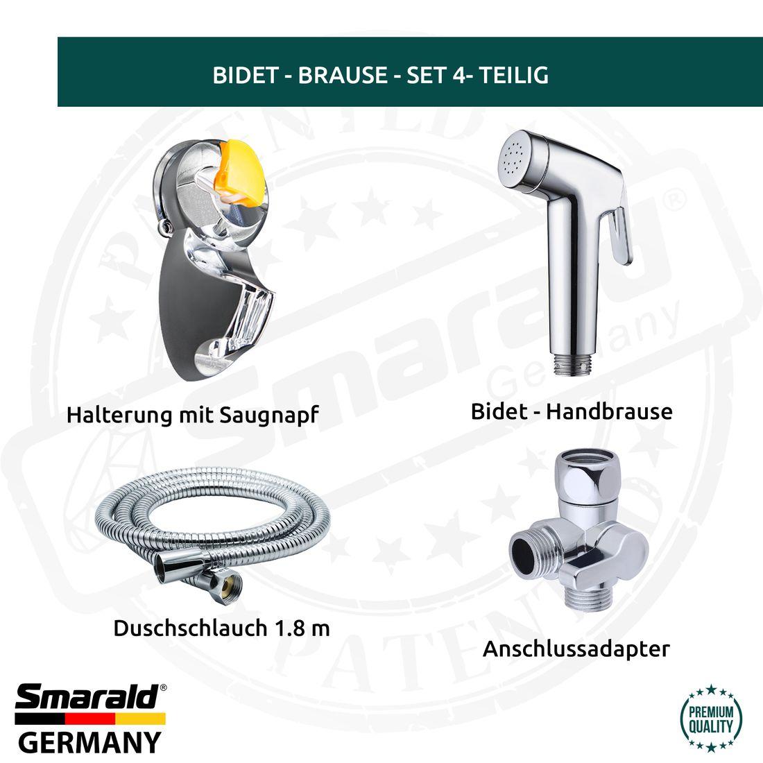 Umstellventil 3-Wege Anschlussadapter f Küche Dusche Bad Bidet WC Duschschlauch